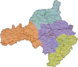 Γεωγραφική Αρμοδιότητα Κοζάνη