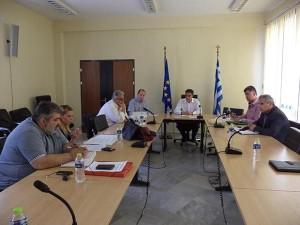 Σύσκεψη στην Περιφέρεια Δυτικής Μακεδονίας για τη διενέργεια του δημοψηφίσματος της 5ης Ιουλίου