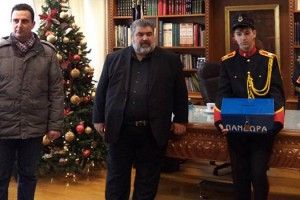 Πρωτοχρονιάτικα κάλαντα στον Αντιπεριφρειάρχη Περιφερειακής Ενότητας Κοζάνης Παναγιώτη Πλακεντά