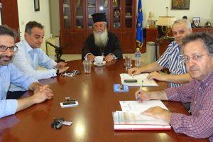 Συνάντηση εργασίας στην Περιφέρεια για το έργο της αναβάθμισης του Τιάλειου Εκκλησιαστικού Γηροκομείου Κοζάνης