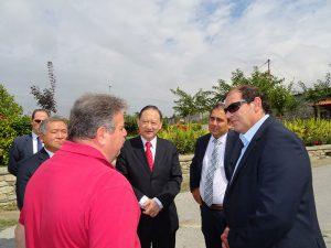 Ο Πρέσβης της Ταιβάν σε επιχειρήσεις της περιοχής