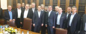 Η σημερινή συνάντηση στη Θεσσαλονίκη με τον Πρωθυπουργό για το Ταμείο Ανάπτυξης Δυτικής Μακεδονίας (ΤΑΔΥΜ)