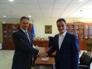 Επίσκεψη του Ούγγρου Πρέσβη στον Περιφερειάρχη Δυτικής Μακεδονίας