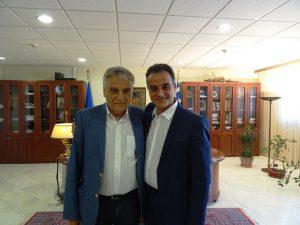 Συνάντηση του Γενικού Γραμματέα του Υπουργείου Εσωτερικών Κ. Πουλάκη με τον Περιφερειάρχη Δυτικής Μακεδονίας