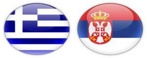 Σημαίες Ελλάδας Σερβίας