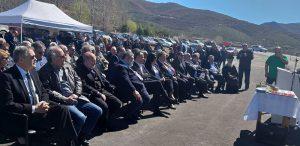 Εγκαινιάστηκε η νέα γεφυροπλάστιγγα του ΤΟΕΒ Μεσοβούνου από τον Περιφερειάρχη Θ. Καρυπίδη. Δρομολογείται η κατασκευή υδροηλεκτρικών σταθμών και σύγχρονου αρδευτικού με χρηματοδότηση της Περιφέρειας Δυτικής Μακεδονίας