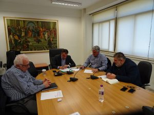 Σημαντικές πρωτοβουλίες για την Πολιτική Προστασία - Υλοποιείται ένα μεγάλο περιβαλλοντικό έργο για την αντιμετώπιση πλημμυρικών παροχών στο Θολόλακκα Βελβεντού