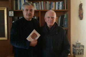 Το νέο συγγραφικό έργο του αφιέρωσε στον Αντιπεριφερειάρχη Γρηγόρη Τσιούμαρη, ο Δρ. Θεόδωρος Κωνσταντινίδης