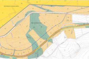 Μετατόπιση τμήματος της επαρχιακής οδού Χρωμίου – Βάρης της Περιφερειακής Ενότητας Κοζάνης - Οριζοντιογραφία