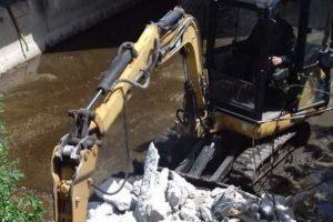 Αποτελεσματική αντιμετώπιση πλημμυρικών φαινομένων στο Μηλοχώρι από την Π.Ε. Κοζάνης