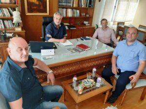 Επίσκεψη του Προέδρου του Πολιτιστικού Συλλόγου Λιβαδεριωτών Ζυρίχης στον Αντιπεριφερειάρχη της Π.Ε. Κοζάνης Γρηγόρη Τσιούμαρη