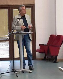 Τα έργα της Π.Ε. Κοζάνης για τον Δήμο Σερβίων παρουσίασε στο Πολιτιστικό Κέντρο Σερβίων ο Αντιπεριφερειάρχης κ. Γρηγόρης Τσιούμαρης