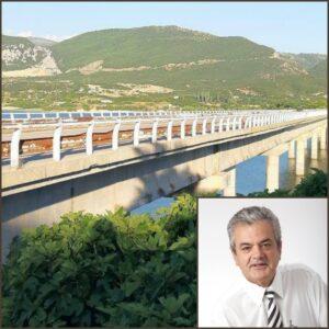 Γρηγόρης Τσιούμαρης - Άνοιγμα της γέφυρας Ρυμνίου σήμερα Παρασκευή 14-08-2020 και ώρα 17:00