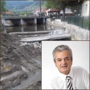 Τσιούμαρης: Εργασίες διευθέτησης κοίτης ποταμού Τ.Κ. Μηλοχωρίου