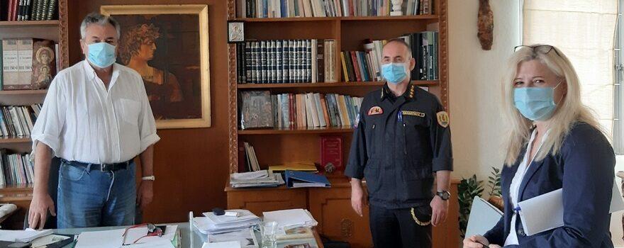Παραχώρηση Η-Υ από την Π.Ε. Κοζάνης στην Σχολή Πυροσβεστών Πτολεμαΐδας