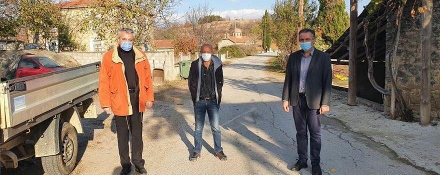 Επίσκεψη του Περιφερειάρχη σε απομακρυσμένες κοινότητες του Βοΐου, συνοδευόμενος από τον Αντιπεριφερειάρχη Π.Ε. Κοζάνης Γρηγόρη Τσιούμαρη
