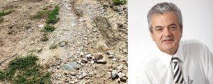 Τσιούμαρης Γρηγόρης: Αποκατάσταση καταστραμμένων δρόμων από την θεομηνία περιοχής αναδασμού Δήμου Σερβίων