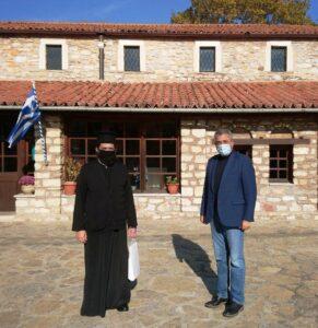 Τσιούμαρης Γρηγόρης: Επικάλυψη στέγης Ι Ν Αγίου Ιωάννου του Προδρόμου Λευκοπηγής με βυζαντινά κεραμίδια