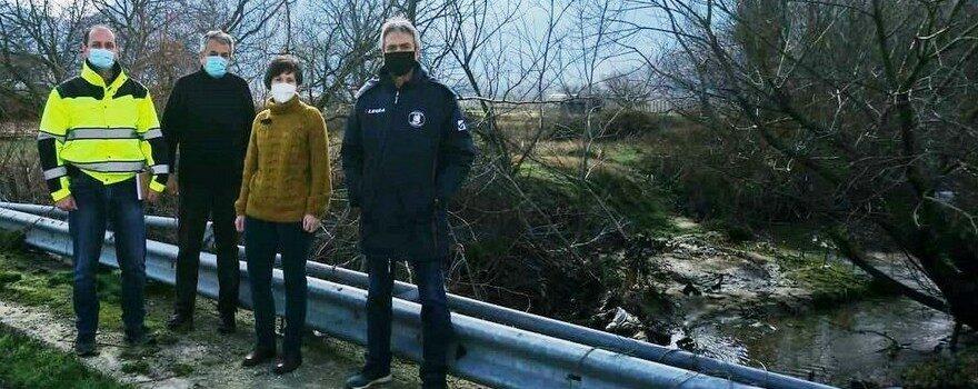 Περιοδεία στις πλημμυρισμένες περιοχές του κάμπου της Δυτικής Εορδαίας του Αντιπεριφερειάρχη Κοζάνης