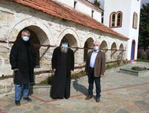 Ελάτη – Λαζαράδες – Φρούριο επισκέφτηκε ο Αντιπεριφερειάρχης Π.Ε. Κοζάνης Γρηγόρης Τσιούμαρης 3