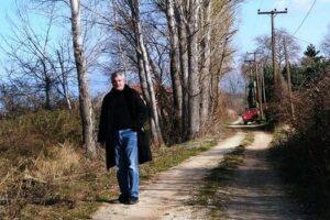 Τσιούμαρης Γρηγόρης: Καθαρισμός υδατορέματος από μεγάλα δέντρα λεύκης στην Τ.Κ. Πρωτοχωρίου
