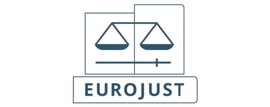Ευρωπαϊκή Μονάδα Δικαστικής Συνεργασίας (EUROJUST) logo
