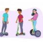 Έντυπο ενημερωτικό υλικό του Υπουργείου Υποδομών και Μεταφορών, που αφορά στους βασικότερους κανόνες οδικής κυκλοφορίας των Ελαφρών Προσωπικών Ηλεκτρικών Οχημάτων (Ε.Π.Η.Ο.) και των ποδηλάτων