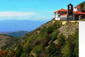 Εγκατάσταση αντικεραυνικής προστασίας στην Ιερά Μονή Αγίου Παντελεήμονος Βλάστης