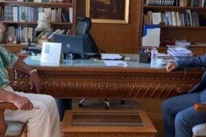 Επίσκεψη του βουλευτή Γιώργου Αμανατίδη στον Αντιπεριφερειάρχη Π.Ε Κοζάνης