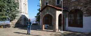 Επίσκεψη του Αντιπεριφερειάρχη Π.Ε. Κοζάνης στην Καστανιά Σερβίων