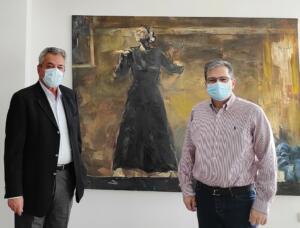 Συνάντηση του Αντιπεριφερειάρχη Κοζάνης με τον Πρύτανη του Πανεπιστημίου Δυτικής Μακεδονίας
