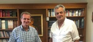 Επισκέψεις Αυτοδιοικητικών στον Αντιπεριφερειάρχη Π.Ε. Κοζάνης Γρηγόρη Τσιούμαρη