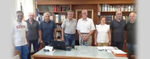 Επίσκεψη του Γενικού Γραμματέα του ΣΕΓΑΣ κ. Σεβαστή Βασίλη στον Αντιπεριφερειάρχη Π.Ε. Κοζάνης κ. Γρηγόρη Τσιούμαρη