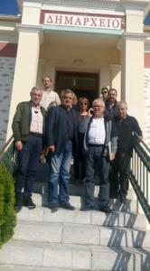 Τα έργα υποδομής και ανάπτυξης του Δήμου Βελβεντού επισκέφτηκε ο Αντιπεριφερειάρχης της Περιφερειακής Ενότητας Κοζάνης Γρηγόρης Τσιούμαρης, με κλιμάκιο των Τεχνικών Υπηρεσιών 3