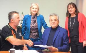 Υπογράφηκαν τη Δευτέρα 23 Δεκεμβρίου 2019 οι συμβάσεις για την υλοποίηση των έργων δημοσίου χαρακτήρα, του τοπικού προγράμματος LEADER της ΑΝΚΟ