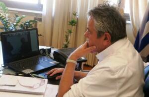 Γρηγόρης Τσιούμαρης: Συνάντηση για τις προσκλήσεις που αφορούν στα έργα ενίσχυσης της ανταγωνιστικότητας των τουριστικών προορισμών του Επιχειρησιακού Προγράμματος «Δυτική Μακεδονία» του ΕΣΠΑ 2014-2020